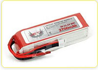 Jeti Lithium Polymer (LiPo) Battery Packs