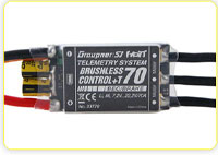 Graupner HoTT Brushless ESCs with Telemetry