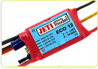Sailplane Jeti ECO Brushless ESCs