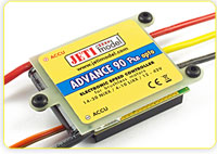 Jeti Mezon, Advance Pro, Spin Pro, ECO Brushless ESCs