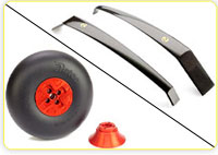Landing Gears, Retracts, Wheels & Accessories